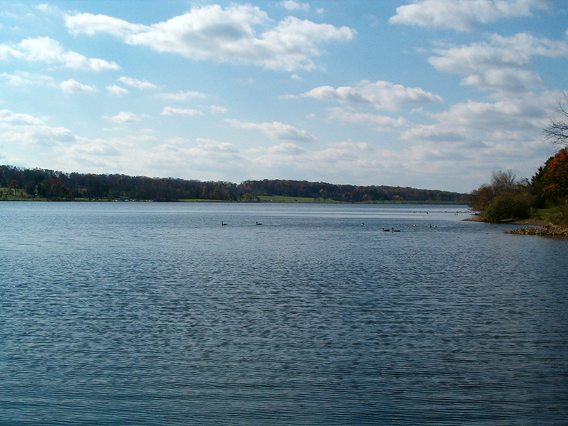 A view of Lake Galena.